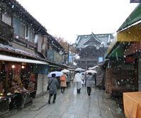 11月24日(木)関東で初雪 - 柴又亀家おかみの独り言