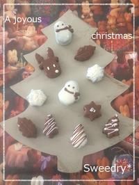 クリスマスデコチョコケーキ☆ - Sweedry*