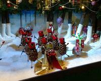 NKデパート  クリスマス   ショーウィンドー    2016年 - 北欧ヴィンテージ.あ!いいって!む!アイテムたち