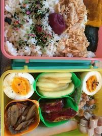 冷えとりの変換☆紫蘇&梅干し&鮭 容器までピンク弁当 - SUPICA'S  BLOG