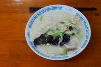 刀削麺(生まれて初めて食べました。) - 蓮華寺池の隣5