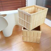 やっと見つけた!スッキリ収納出来るシンプルな木製収納BOX - Stella