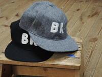 "WOOL BASEBALL CAP ""BROOKLYN"" - forty fiveオーナーの日記"
