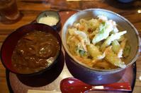 金沢(上荒屋):天ぷらと手打ちうどん 金澤さぬき 「ネギ天うどん」「カレーめし」 - ふりむけばスカタン