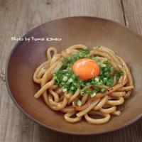 ご褒美ごはん Vol. 141 焼うどん - ふみえ食堂  - a table to be full of happiness -