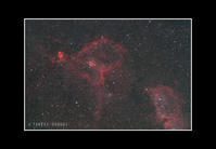 2016年11月24日 カシオペア座ハート星雲(IC1805)@根尾 - Painter,with nature-Photo