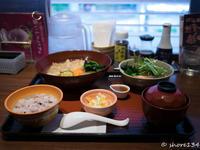シャレっ気を求めなければ渋谷でもヘルシー系の定食屋でランチ 【大戸屋 渋谷公園通り店】 - 海辺でひとりごと。