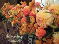 ホテル東日本さんでのウエディングフラワー - [花灯-hanabi-] 栃木県宇都宮市の花屋です