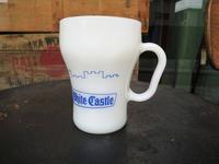 Fire King Advertising Soda Mug White Castle  - DELIGHT CLOTHING&SUPPLY