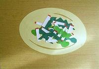春菊とりんごのサラダ - たなかきょおこ-旅する絵描きの絵日記/Kyoko Tanaka Illustrated Diary