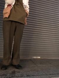 ゆる~くワイドで、上質を味わう! (T.W.神戸店) - magnets vintage clothing コダワリがある大人の為に。