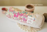 チョウチョ柄のエピペンケース - Orange*nana:はりねずみが今日も作っちゃうよぉ!