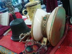 チベット密教の教えと、宗教音楽楽器 - ことほぎの響き