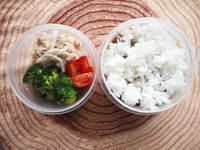 11/28(月)カリーとサラダ弁当 - ぬま食堂