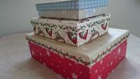 ダイソーのクリスマスボックスが可愛い❗ - AssortClothのハンドメイドダイアリー