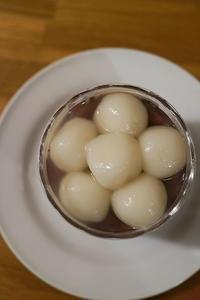 2016.11.6 鈴懸の生菓子 - ゆりこ茶屋2