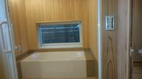 ヒノキ板貼りの浴室 - 木楽な家 現場レポート