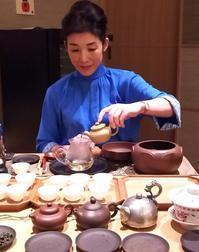 【お礼】至極のひととき 京中華と中国茶の素敵な出会い@らいらいらくらく - お茶をどうぞ♪