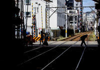 阪堺電車の沿線 - 写真の散歩道