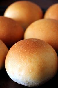 丸パンころころ、コロッケサンド!初めての粉「麦のほまれ」 - Takacoco Kitchen