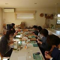 28.11.17 WAKUWAKU WORKSHOP vol.44 「小物」 - lesson note *Little Daisy*