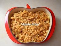 ★Apple Crisp @Le Creuset アップルプレート★ - Don't Worry! Be Happy!