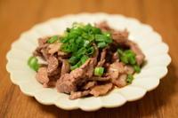 牛肉ポン酢 - 小皿ひとさら