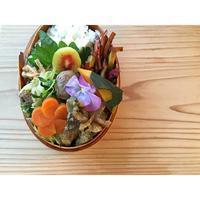 砂肝の野菜炒めBENTO - Feeling Cuisine.com
