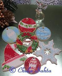 クリスマスアイシングクッキークラスの開催! - シュガークラフトアーティスト Mihoの気ままなブログ