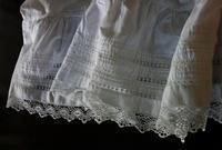 コットンロングスカート43 sold out! - スペイン・バルセロナ・アンティーク gyu's shop