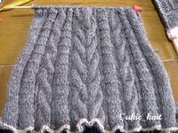 はじめての棒針編みにチャレンジ☆ - akieの編物教室奮戦記