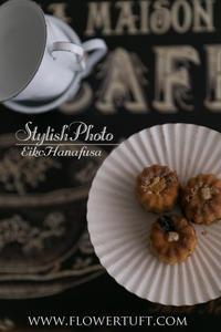 フォトレッスン◆スナックタイムも。 - 幸せのテーブル*flowertuft-flowers&tablesXphoto