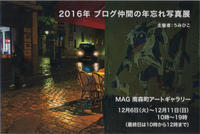 2016年 ブログ仲間の年忘れ写真展 - YOSHIの日記