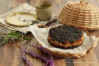 紫芋のクランブルタルト - komorebi*