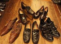 French vintage shoes - carboots