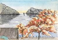 滋賀県・菅浦(その2) - 風と旅人(絵画編)