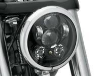 ハーレ純正LEDヘッドライトのパチもんを試してみる - 883R-GOGO!