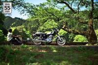 春を待つ - マーチとバイク