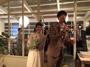 神戸のカフェで二次会ドレス - vintagewedding 小梅