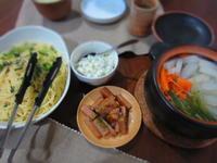 野菜たくさんいぶりがっこディップ - 恵茶房 meg tea labo