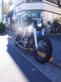 さよなら 1963FLH1200  - Vintage motorcycle study
