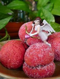 桃のお菓子 (Pesca) - エミリアからの便り