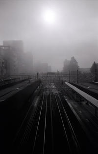 霧の駅 - 心のカメラ / more tomorrow than today ...