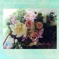 ライブで花束を - Rico 花の教室