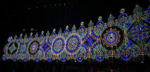 神戸ルミナリエ2016(4)スパッリエーラ「光と音の大パノラマ」 - たんぶーらんの戯言