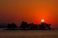 島根県松江市「宍道湖の夕景」 - 写真ブログ「四季の詩」
