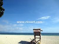 フォートクラレンス・ビーチ - ジャマイカブログ Ricoのスケッチ・ダイアリ