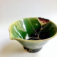kuh金継ぎ教室から「あ・そ・び」展 - 「リッタイとウツワ」   Tomomi Kamoshita