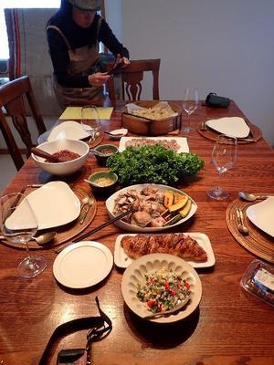 2016年11月のタイ料理教室 - 楽子の小さなことが楽しい毎日