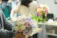 とつぜんブーケレッスン12月11日日曜AM参加者募集 - 一会 ウエディングの花